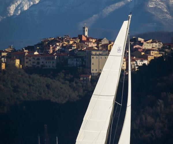 La Spezia, Italy,  February 2014 The new Dufour 310  Ph: Guido Cantini / seasee.com