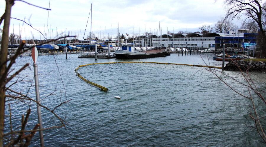 Hafeneinfahrt nicht befahrbar